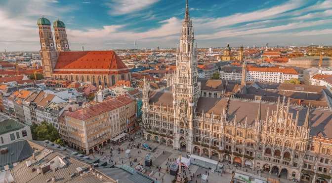 Aerial Views: 'Munich – Southern Germany' (4K)