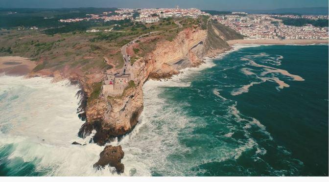 Coastal Views: Nazaré – Southern Portugal (4K)
