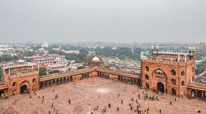 Aerial Views: New Delhi – Northern India (4K Video)
