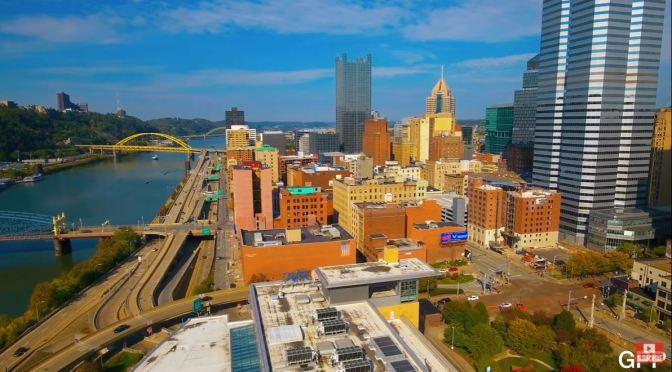 Aerial Views: Pittsburgh – Pennsylvania (4K video)