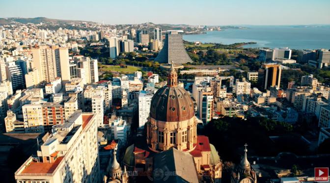 Aerial Views: Porto Alegre – Southern Brazil (Video)