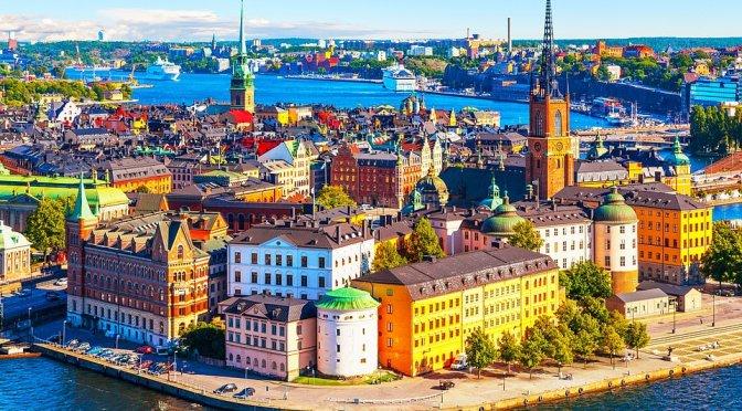 Aerial Views: Stockholm – Southeastern Sweden (4K)