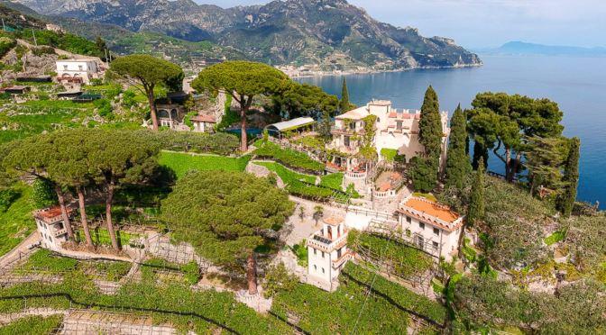 Italian Villa Tour: Ravello, The Amalfi Coast (Video)