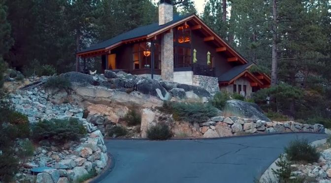 Architecture: A Mountain Chalet Near Lake Tahoe, Northern California