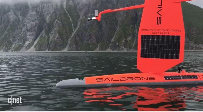 Climate Change: A Fleet Of Saildrones Patrol Oceans