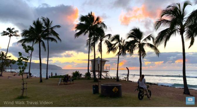 Ocean Walks: 'Hale'iwa Beach Park', Oahu, Hawaii