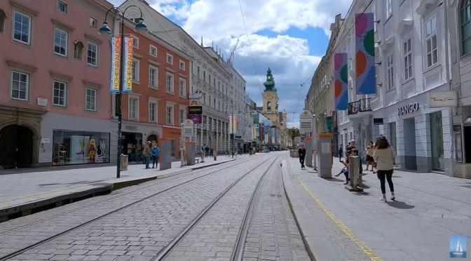 Bicycle Tour: Linz – Northern Austria (4K)