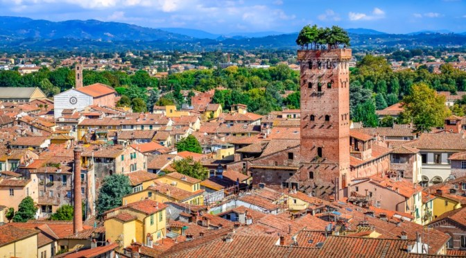 Bike Tours: 'Lucca – Northern Italy (4K Video)