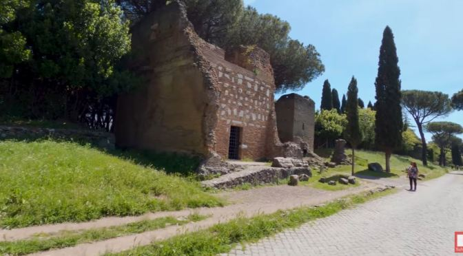 Bike Tours: The Appian Way – Rome In Central Italy (4K)