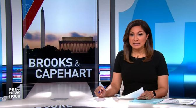 Political News: Brooks & Capehart On Israel-Hamas Cease-Fire, Senate Hearing