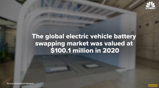 Analysis: Can EV Battery Swapping Gain In The U.S.?