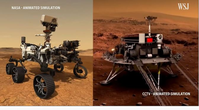Mars Missions: The China And U.S. 'Battle Of Rovers'