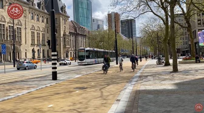 City Design: 'Coolsingel' In Rotterdam, Netherlands