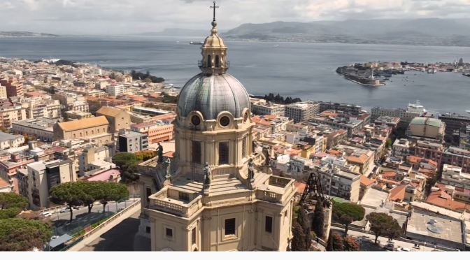 Aerial Views: 'Messina – Sicily, Italy' (4K Video)