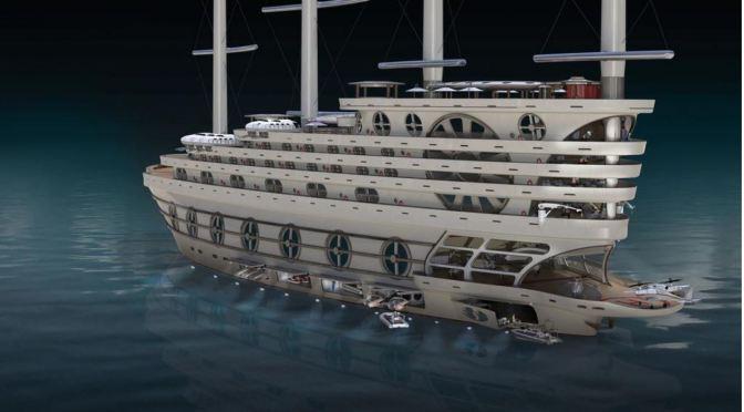 Gigayachts: 'Galleon' – Steve Kozloff Designs