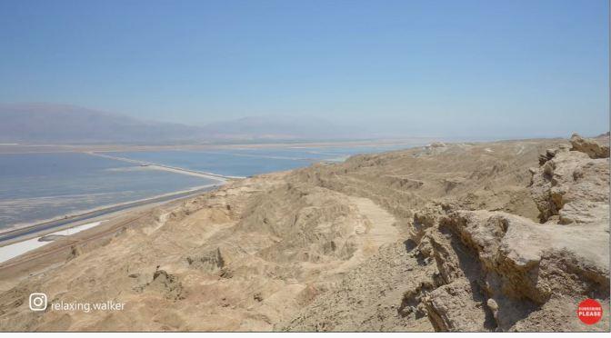 Hikes: 'Mount Sodom' – Judean Desert, Israel (4K)
