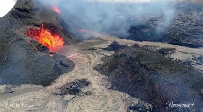 Earth Views: New Volcano Erupts In Iceland (Video)