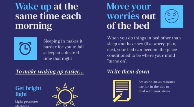 Infographic: Sleeping Well In Times Of Stress