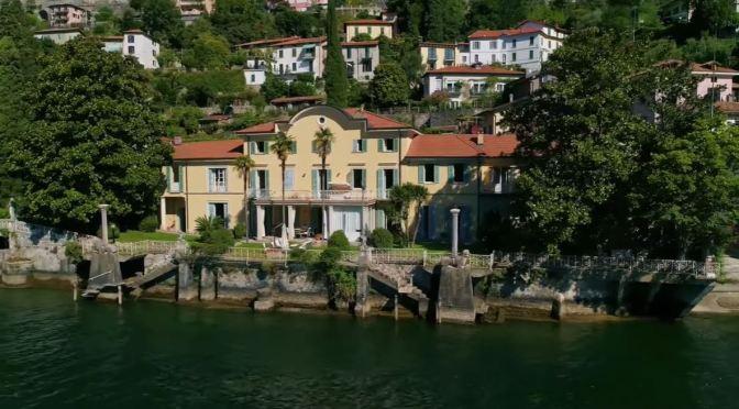 Italian Villa Views: Carate Urio, Lake Como (Video)