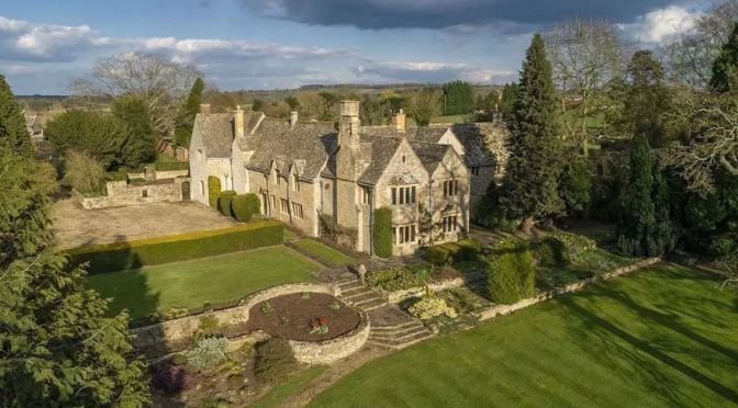 English Country Homes: Little Wolford Manor, Cotwolds, Warwickshire