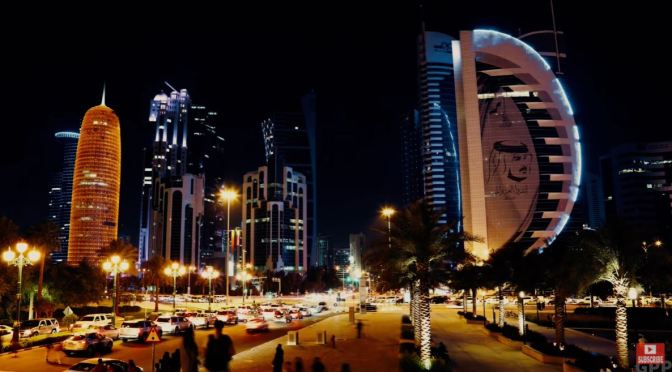 Nighttime Views: 'Doha – Capital Of Qatar' (4K Video)