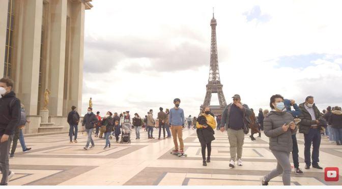 Paris Walks: Trocadéro & Eiffel Tower (4K Video)