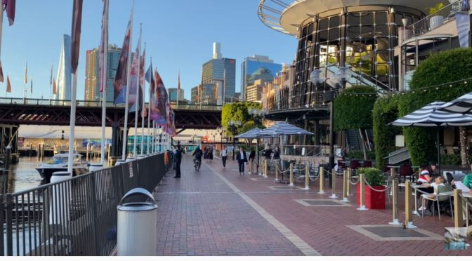Walking Tour: Pyrmont In Darling Harbour, Sydney