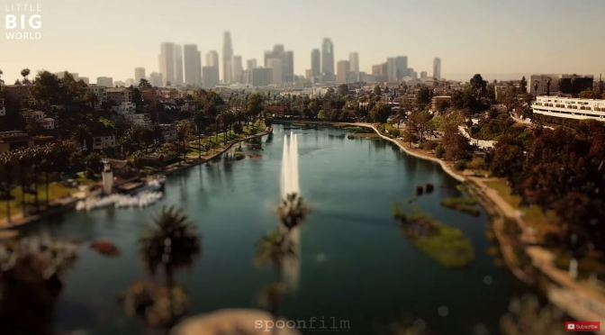 Tilt-Shift Travel: 'Los Angeles – California' (4K)