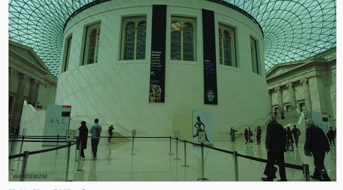Walking Tour: British Museum – London (4K)