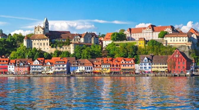 Views: Meersburg On Lake Constance, Germany (4K)