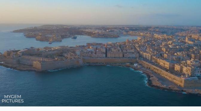 Travel Tour: One Day In 'Valletta' – Malta (4K Video)