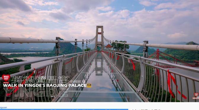 Views: Glass Skywalk & Roller Slide In China (4K)