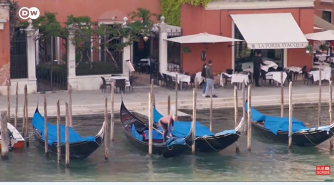 Tourism: Venice Re-Opens To Much Smaller Crowds