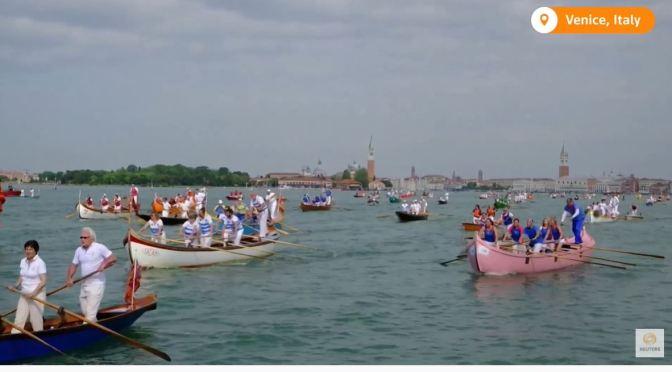 Venice Views: 'Vogalonga' Rowing Regatta Returns