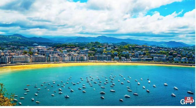 Views: San Sebastián – Northern Spain (4K)