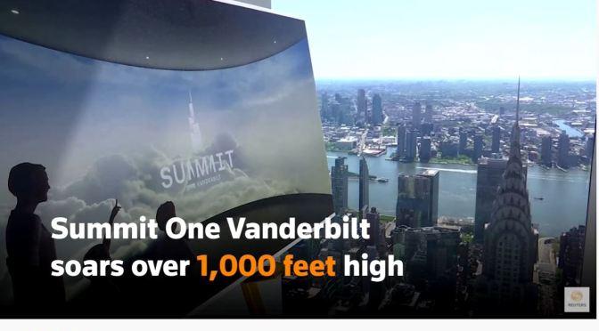 City Views: Summit One Vanderbilt Observation Deck In New York City