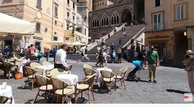 Walking Tours: Amalfi – Southwest Coast Of Italy