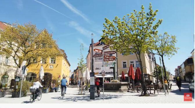 Walking Tour: Bayreuth – Southern Germnay (4K)