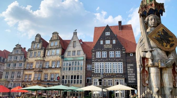 Walking Tour: Bremen – Northwest Germany (4K)