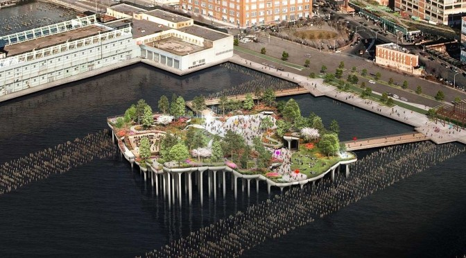 NYC Walks: 'Little Island' – First Floating Public Park