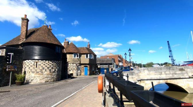 Walking Tour: Sandwich – Southeast England (4K)