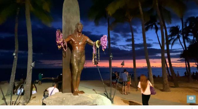 Evening Walks: Waikiki –  Honolulu, Hawaii (4K)