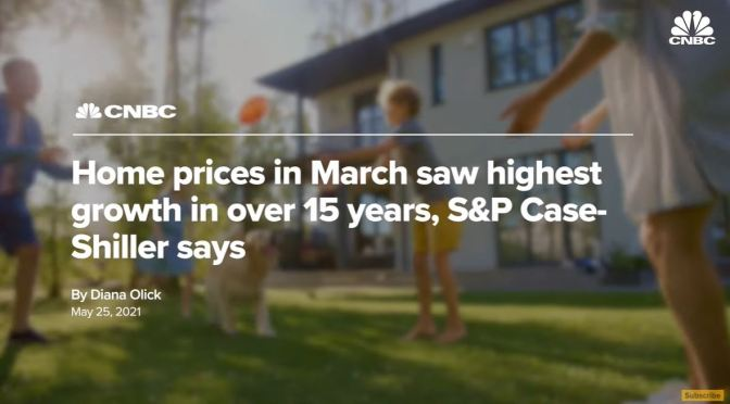 Analysis: Why U.S. Houses Are So Expensive (CNBC)