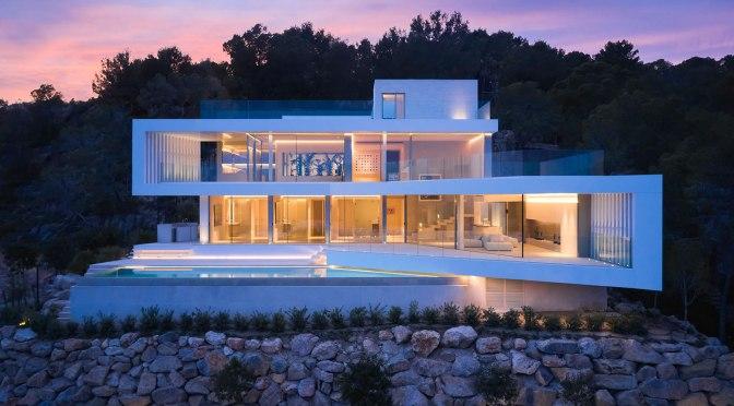 Architecture: Villa Anguli In Camp de Mar, Mallorca