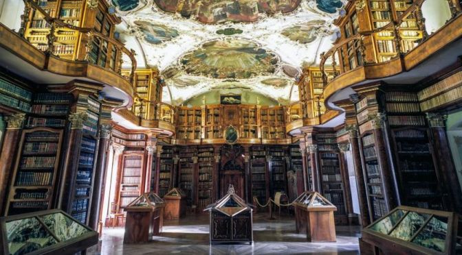 Photographic Views: The Epic Libraries Of Europe