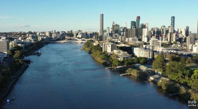 Aerial Views: Brisbane – Eastern Australia (4K)