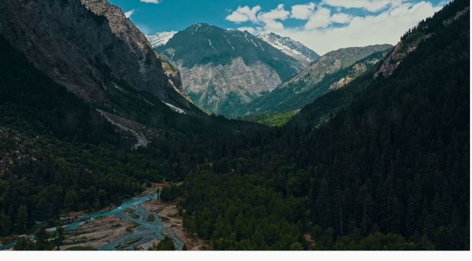 Aerial Views: The Kumrat Valley, Pakistan (4K Video)