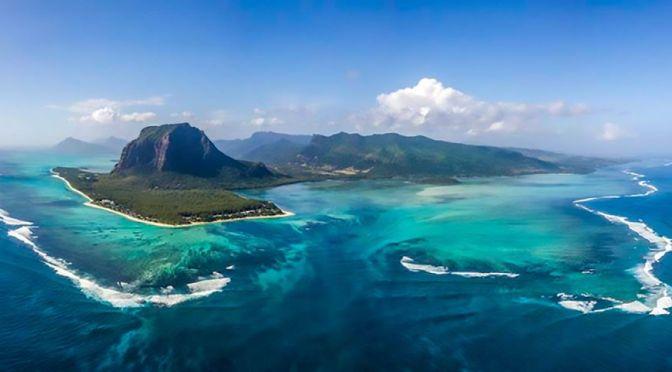 Aerial Views: Island Of Mauritius, Indian Ocean