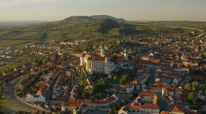 Aerial Views: Mikulov – Czech Republic (4K Video)