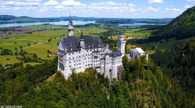 Aerial Views: Castles & Palaces Of Europe (8K)
